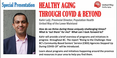 Healthy Aging Through CoVid and Beyond tickets