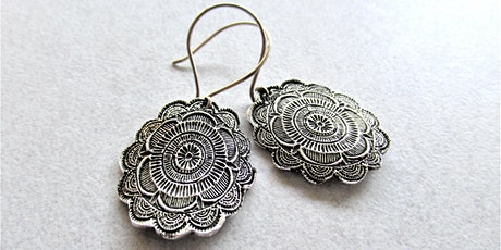 Metal Clay Jewelry Workshops: Earring Extravaganza tickets