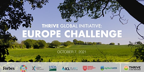 THRIVE EUROPE CHALLENGE tickets
