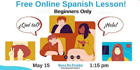 Kasa De Franko's Spanish Socials: Free Online Spanish Lesson! entradas