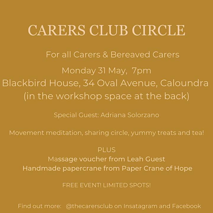Carers Club Circle image