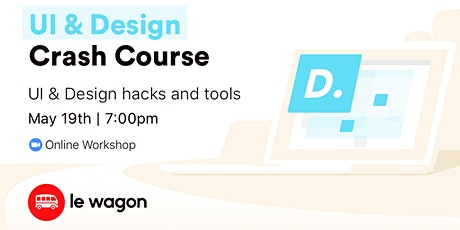 UI & Design Crash Course - Online Workshop tickets