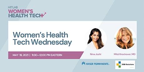 Women's Health Tech Wednesdays | Mitzi Krockover, MD,  SSB Solutions tickets