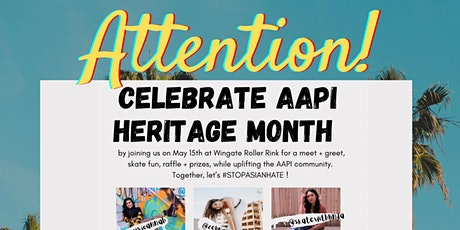 AAPI HERITAGE MONTH CELEBRATION/MEET & GREET tickets