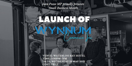 Small Business Event with Wynnum Commerce Inc. hosted by Joan Pease MP tickets