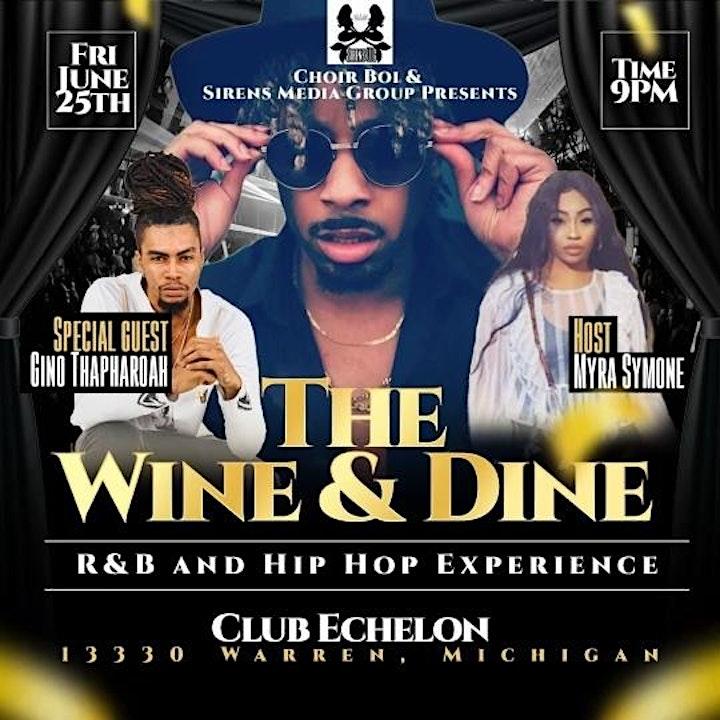 The Wine & Dine- R&B Experience image