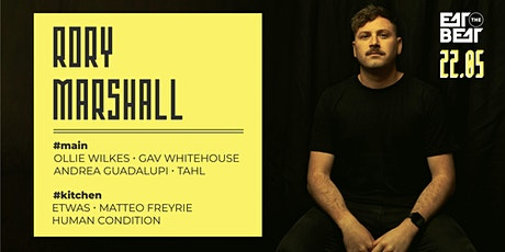 Eat The Beat Presents : RORY MARSHALL tickets