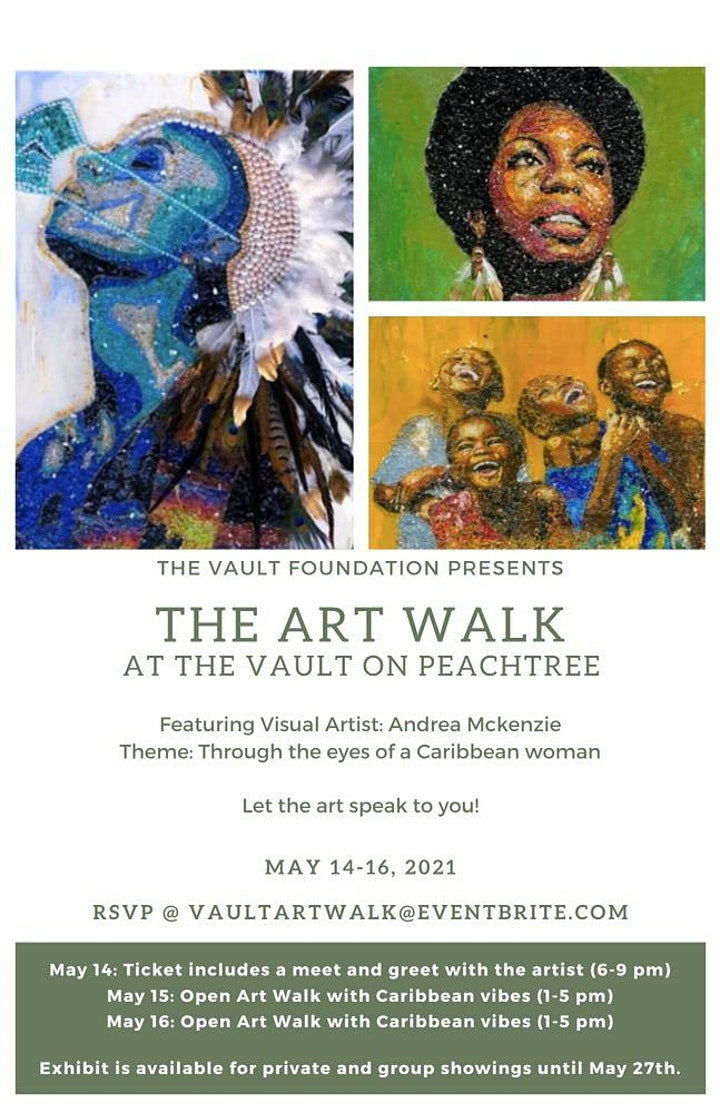 ART WALK at the Vault at Peachtree featuring Visual Artist Andrea McKenzie image