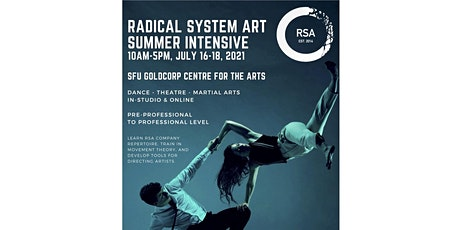 RSA IN-STUDIO Summer Intensive July 16-18, 2021 tickets