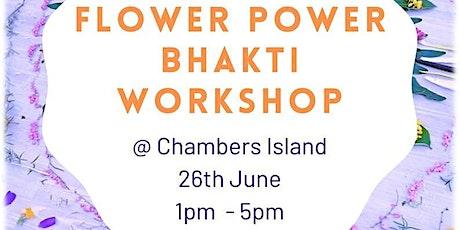 Flower Power Bhakti Workshop tickets