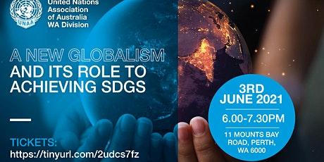 A New Globalism and its Role to Achieving SDG Goals tickets