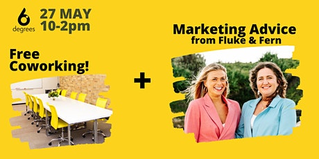 6 Degrees - Marketing Advice & Coworking Day @ Woolgoolga tickets