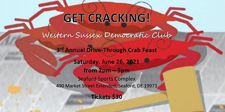 Western Sussex Democratic Club Annual Drive-By Crabfeast tickets