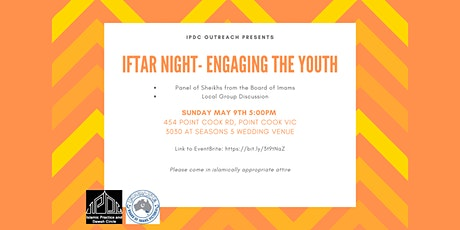 Engaging the Youth Iftar Night tickets