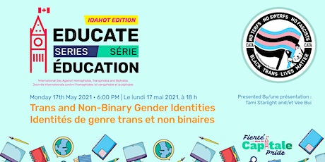 EDUCATE series: Trans and non-binary gender identities (IDAHOT edition) tickets