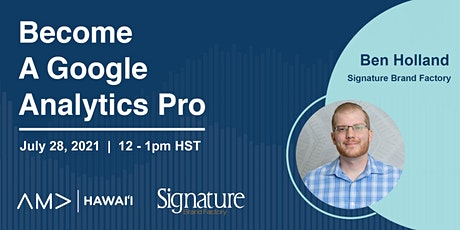 Become A Google Analytics  Pro tickets