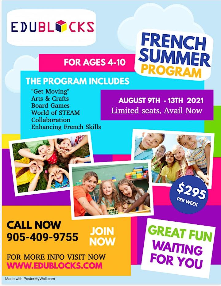 Virtual Summer Break French STEM Camp image