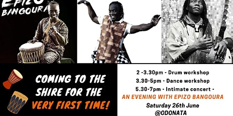 Epizo Bangoura African Drum and Dance tickets