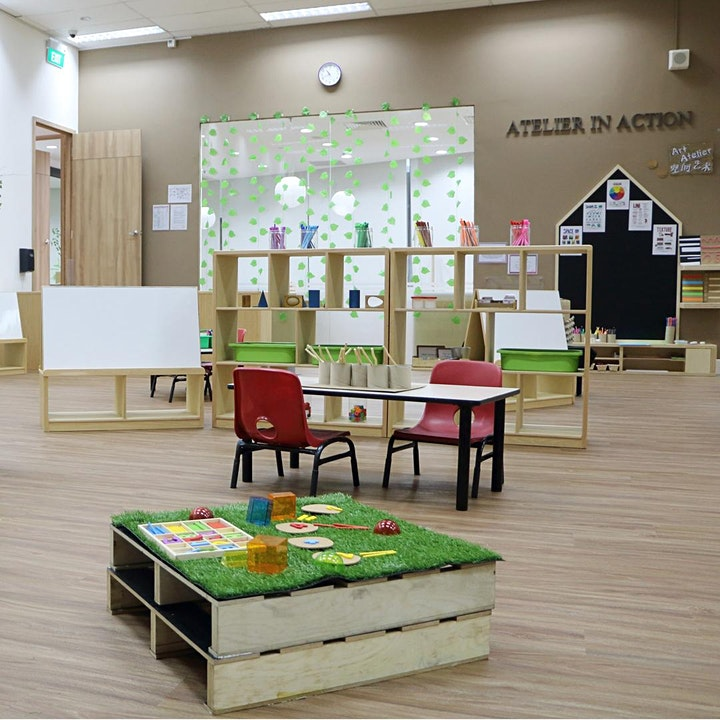 Find out more about our creativity-inspired preschool programmes image