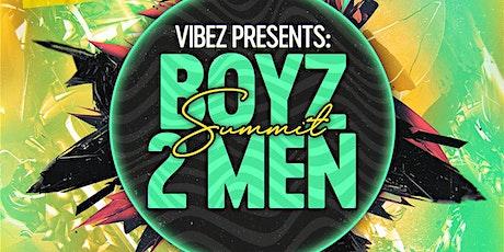 Vibez Presents: Boyz-2-Men Summit tickets