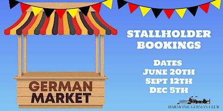German Market Stallholder tickets