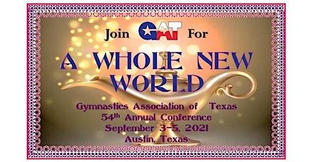 Gymnastics Association of Texas Convention 2021 tickets