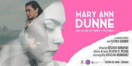 Mary Ann Dunne - Teatro del Hain tickets