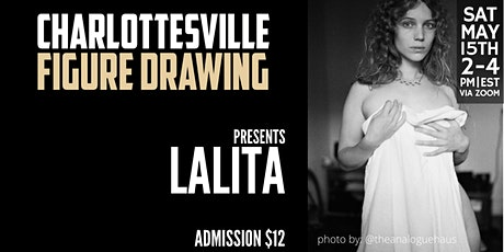 Online Figure Drawing with Lalita tickets