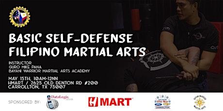 Basic Self-defense Filipino Martial Arts tickets