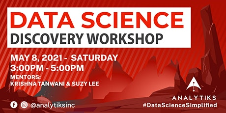 Analytiks Data Science Discovery Workshop (Online Edition) tickets