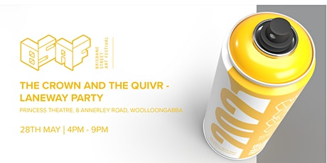 The Crown and the Quivr - Laneway Party tickets