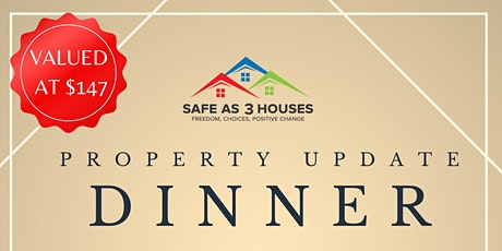 Exclusive Property Update Dinner With Property Expert Anthony Edmonds tickets