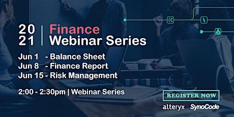 [Alteryx] Simplifying Analytics in Finance | Part 1: Balance Sheet Analysis tickets