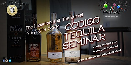 The Importance of the Barrel, Codigo Tequila Seminar tickets