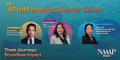 APIHM Impact Speaker Series: Government - Sumbul Siddiqui tickets