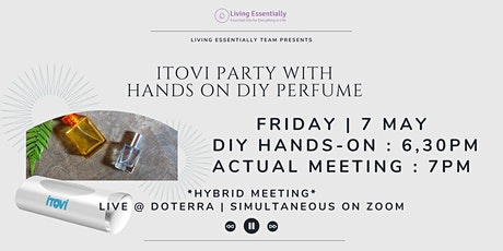 iTOVi  Party with Hands-On DIY Perfume tickets