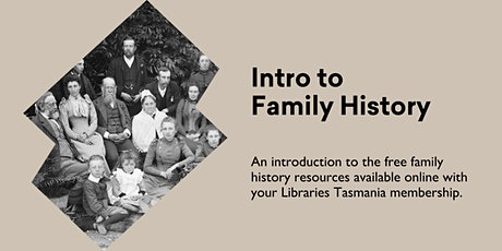 Intro to Family History @ Kingston Library tickets