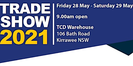 Trophies for Distinction  (TCD)   2021 Trade Show tickets