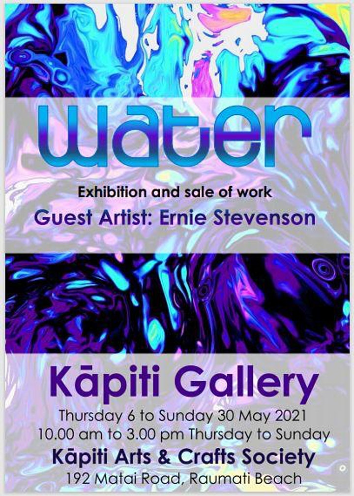 Water exhibition and sale of work image