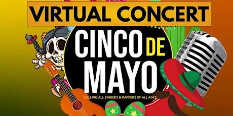 Copy of 2hotradio.com Cinco de Mayo Virtual Concert tickets