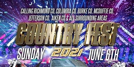 COUNTRY FEST 2021 tickets
