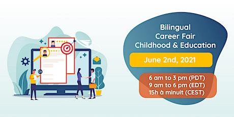 Foire à l'emploi bilingue | Éducation et Petite Enfance billets