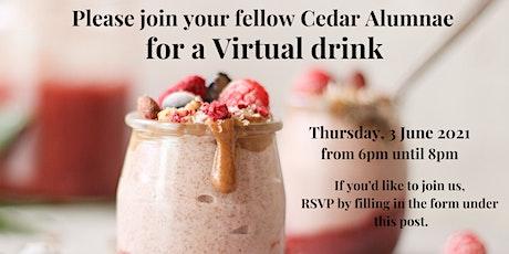 Cedar Alumni Virtual Drinks tickets