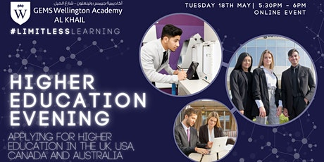 Higher Education Evening - Applying in the UK, USA, Canada and Australia tickets