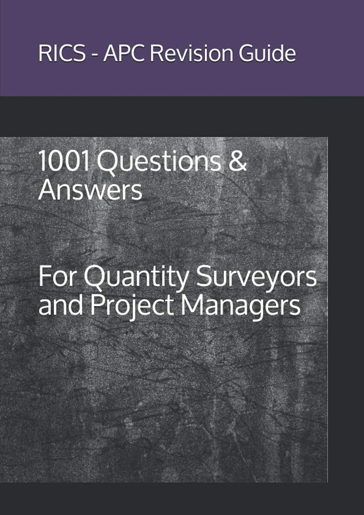 RICS APC - Revision Guide: 1001 Questions & Answers image