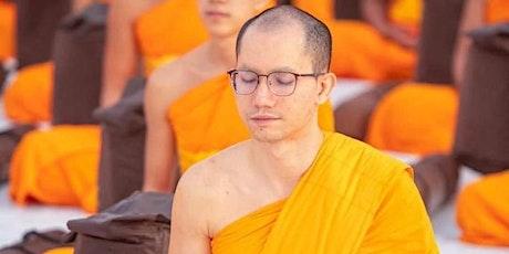 Taller especial de meditación con el Venerable Daniel Dhammarako entradas