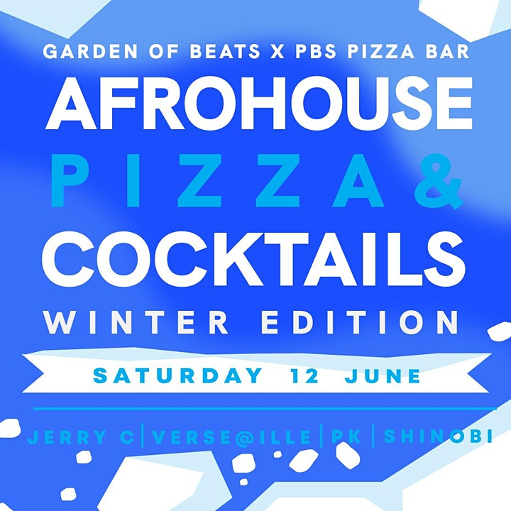 AFROHOUSE IN ST KILDA - Bottomless Pizza & Cocktail (Winter Edition) image