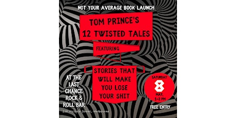 Twelve Twisted Tales – Book Launch tickets