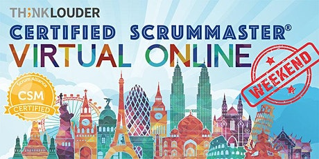 Virtual Live Online CSM | Singapore | May 31 - June 1 tickets