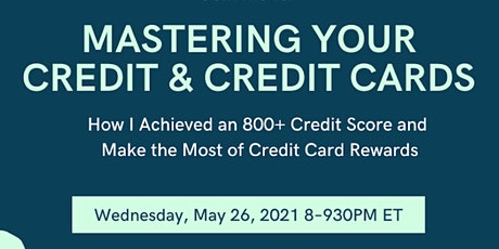 Mastering Your Credit & Credit Cards tickets